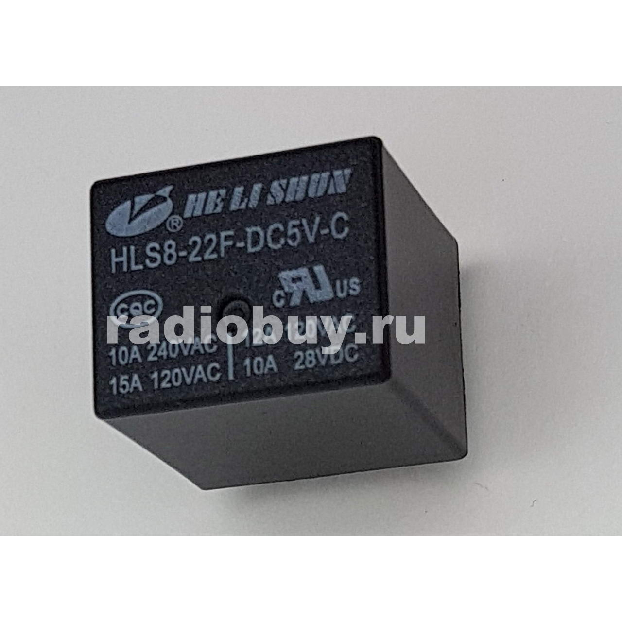 Реле JD1914 (DC 12V-40A), 5pin, 31x27x25