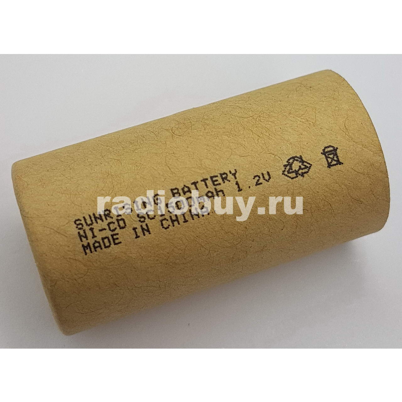 Аккумулятор Sunrising Ni-Cd SC, 1500mAh, (10C)