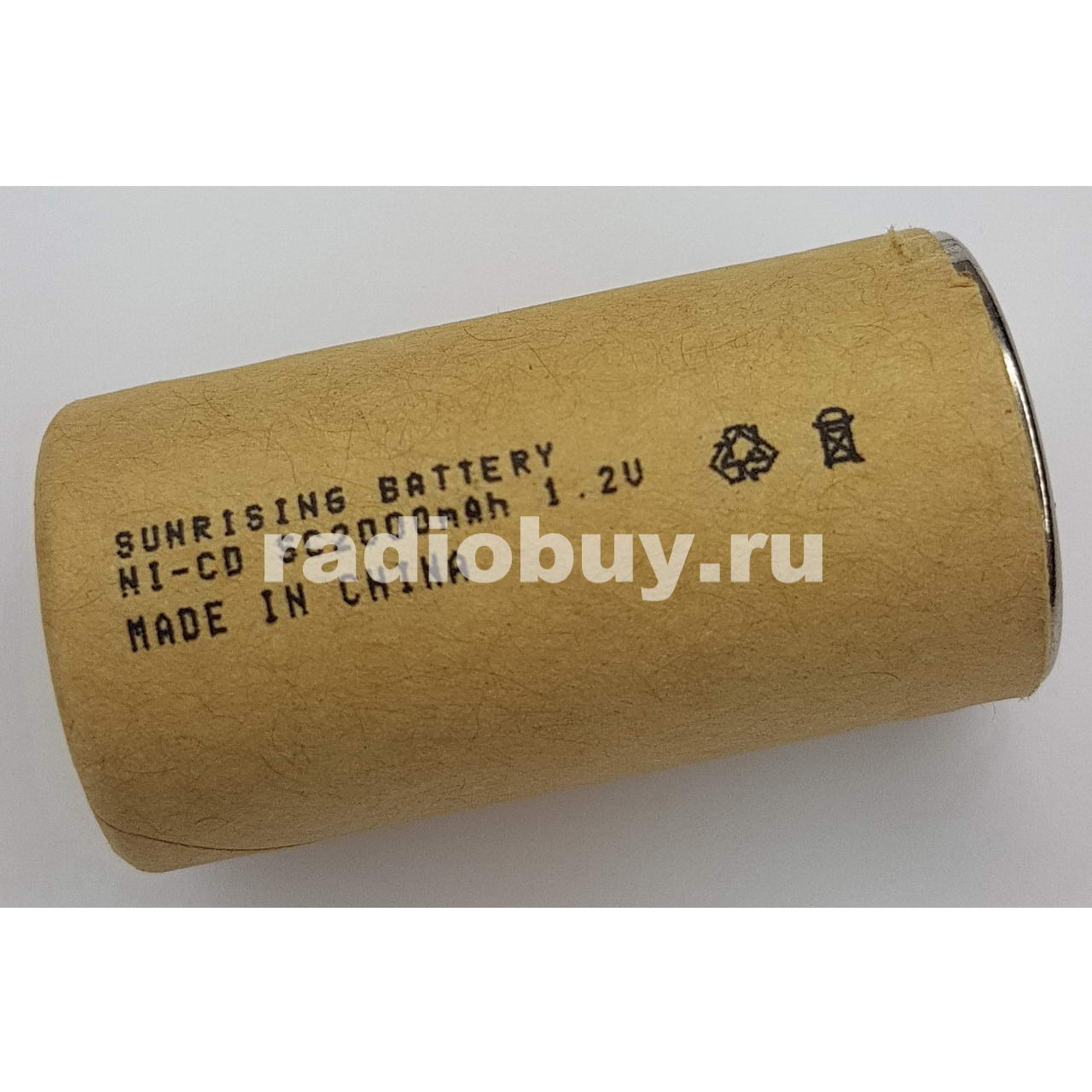 Аккумулятор Sunrising Ni-Cd SC, 2000mAh, (10C)