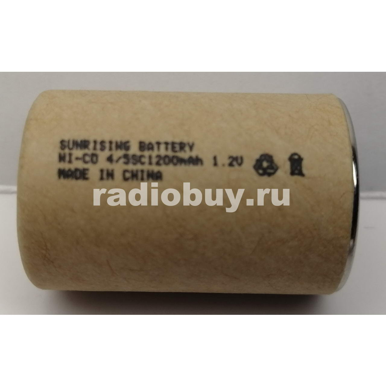 Аккумулятор Sunrising Ni-Cd 4/5SC, 1200mAh, 10C