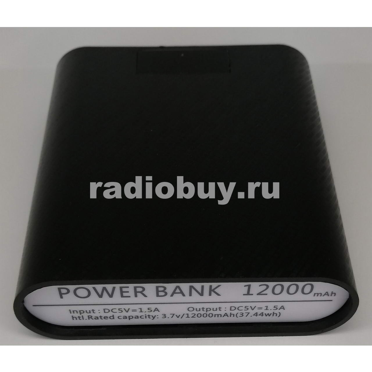 Корпус Power Bank для 4-х аккумуляторов 18650 с LED индикацией