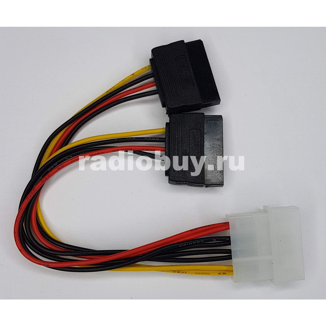 Переходник FinePower Molex - SATA x2
